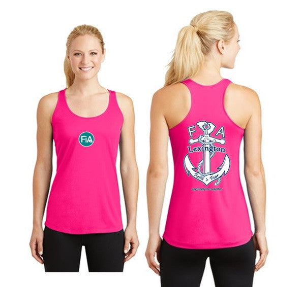 FiA Lexington Sport-Tek Women's Racerbank Tank Pre-Order