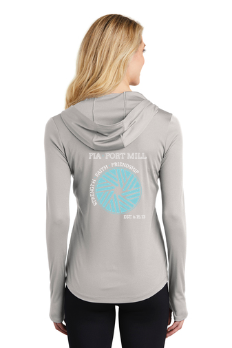 FiA Fort Mill Sport-Tek Ladies PosiCharge Competitor Hooded Pullover Pre-Order