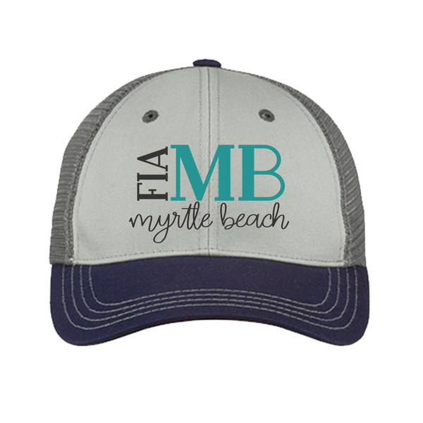 FiA SC - Myrtle Beach District Tri-Tone Mesh Back Cap Pre-Order