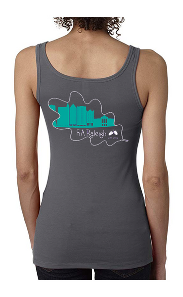 FiA Raleigh - Next Level Women's Spandex Jersey Tank Pre-Order