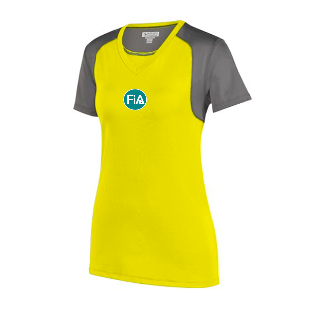 FiA Running Wild Augusta Ladies Astonish Short Sleeve Jersey Pre-Order