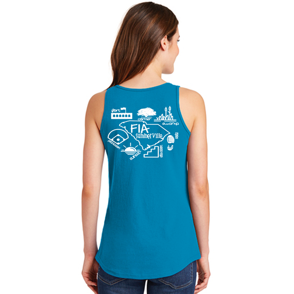 FiA Summerville AO Shirt - Port & Company Cotton Tank Top Pre-Order