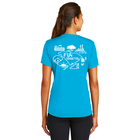 FiA Summerville AO Shirt - Sport-Tek Ladies Performance Tee Pre-Order