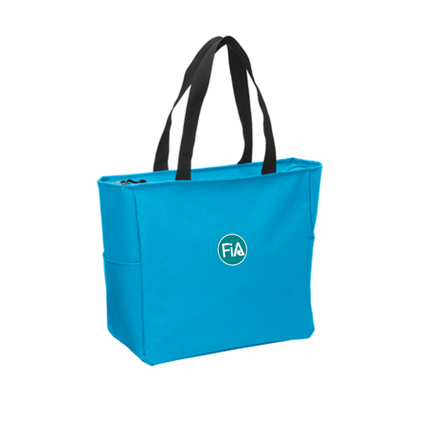 FiA Zippered Tote - Made to Order