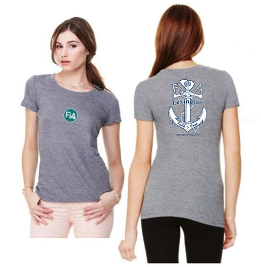 FiA Lexington Bella Women's Tri-Blend Short Sleeve Tee Pre-Order