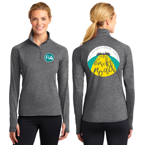 FiA Lexington Yellow Brick Road Sport-Tek Ladies Sport-Wick Stretch 1/2-Zip Pullover Pre-Order