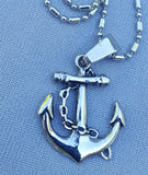 "ANCHOR NECKLACE. ""Nothing so certain as your anchors."" (The Winter's Tale"" 4-4)"