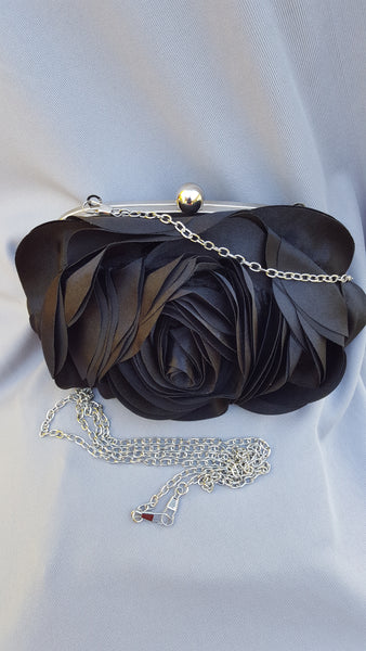 "BLACK ROSE PURSE.  ""A rose by any other name would smell as sweet."" (Romeo and Juliet 2-2)"