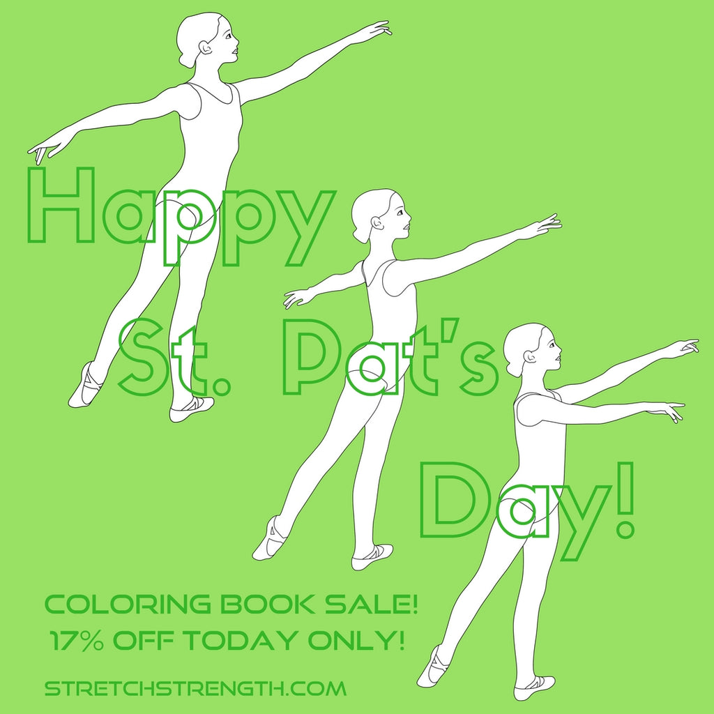 Happy St. Patrick's Day coloring sheets and SALE!