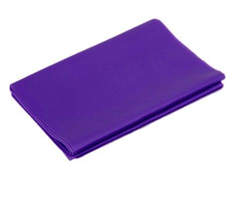 Extra Long and Wide Purple Extra Heavy Stretch Resistance Band for more stretching and strengthening exercises. - StretchStrength.com