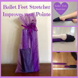 Pink and White Ballet Feet Stretcher - ONE Professional Arch Foot Stretcher - Dancers, Ballet Students, Gymnasts, Figure Skaters - StretchStrength.com