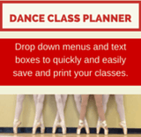 Dance Class Planner - Beginner Ballet Basic - Editable Ballet Lesson Plan with Syllabus - StretchStrength.com
