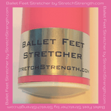 "Ballet Feet Stretcher PLUS 4'6"" Stretch Band, 5 Marble Gems, and Hands Free Strap! Order 1 or 20! - StretchStrength.com"