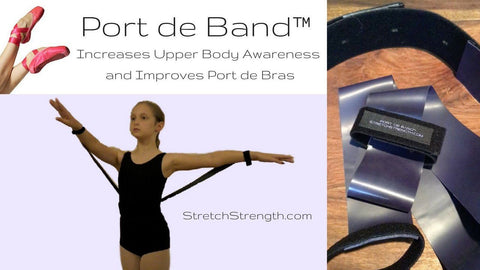 Port de Band™   ONE Training Tool for Upper Body strength and control - StretchStrength.com