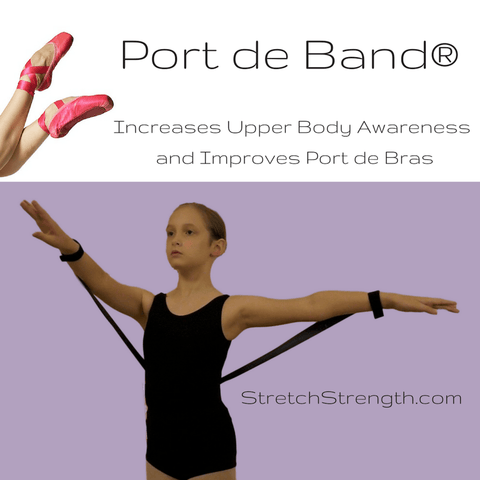 Port de Band®  for Upper Body - Improve your Port de Bras!  Discount if you order 2 or more!