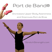 Port de Band®   ONE Training Tool for Upper Body strength and control - StretchStrength.com