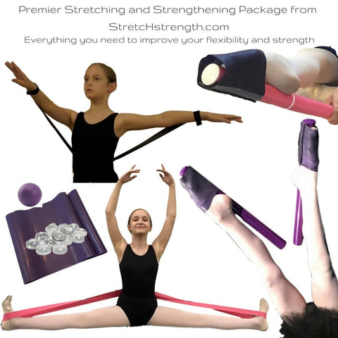Premier Stretching and Strengthening Training Tools for ballerinas, dancers, gymnasts, skaters and more!