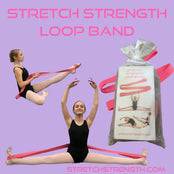 Stretch Strength Ballet Stretch Band - StretchStrength.com
