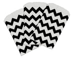 "3.25"" x 5.25"" Colored Chevron Flat Paper Merchandise Bags -Mini Bags - Wrappingmeup"