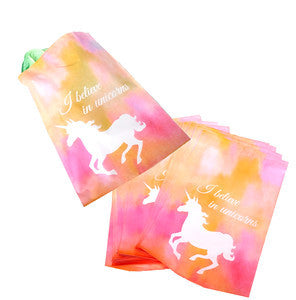 "10"" x 13"" Pastel Pink Unicorn Shipping Mailers, Flat Poly Self Adhesive Mailing Bags"