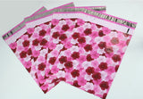 "50 Pack 10"" x 13"" Flower Designs Flat Poly Shipping Mailers,  Fun Design Poly Shipping bags - Wrappingmeup"