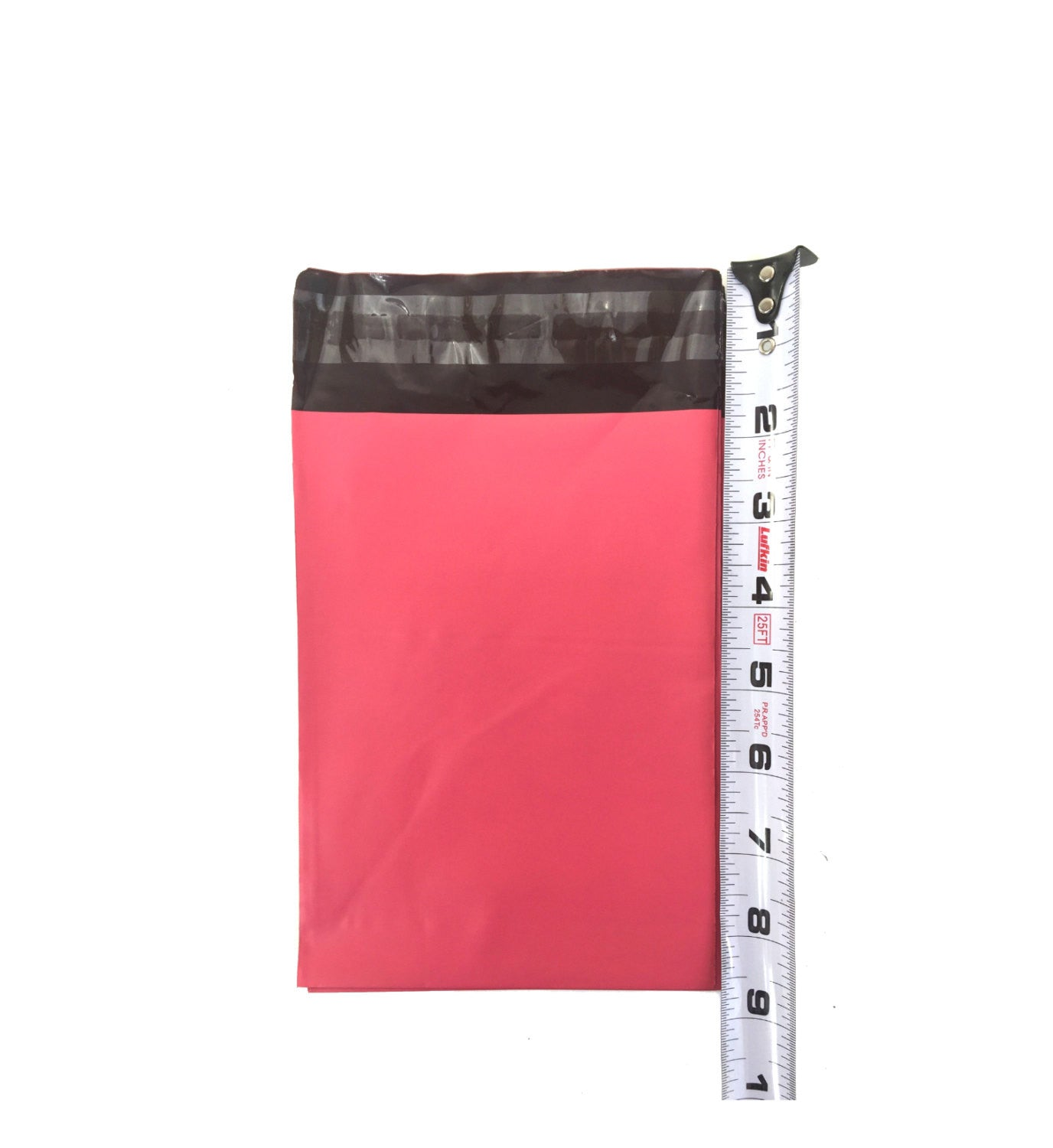 "5"" x 7"" Pink Flat Poly Self Sealing Poly Bag Mailers - Wrappingmeup"