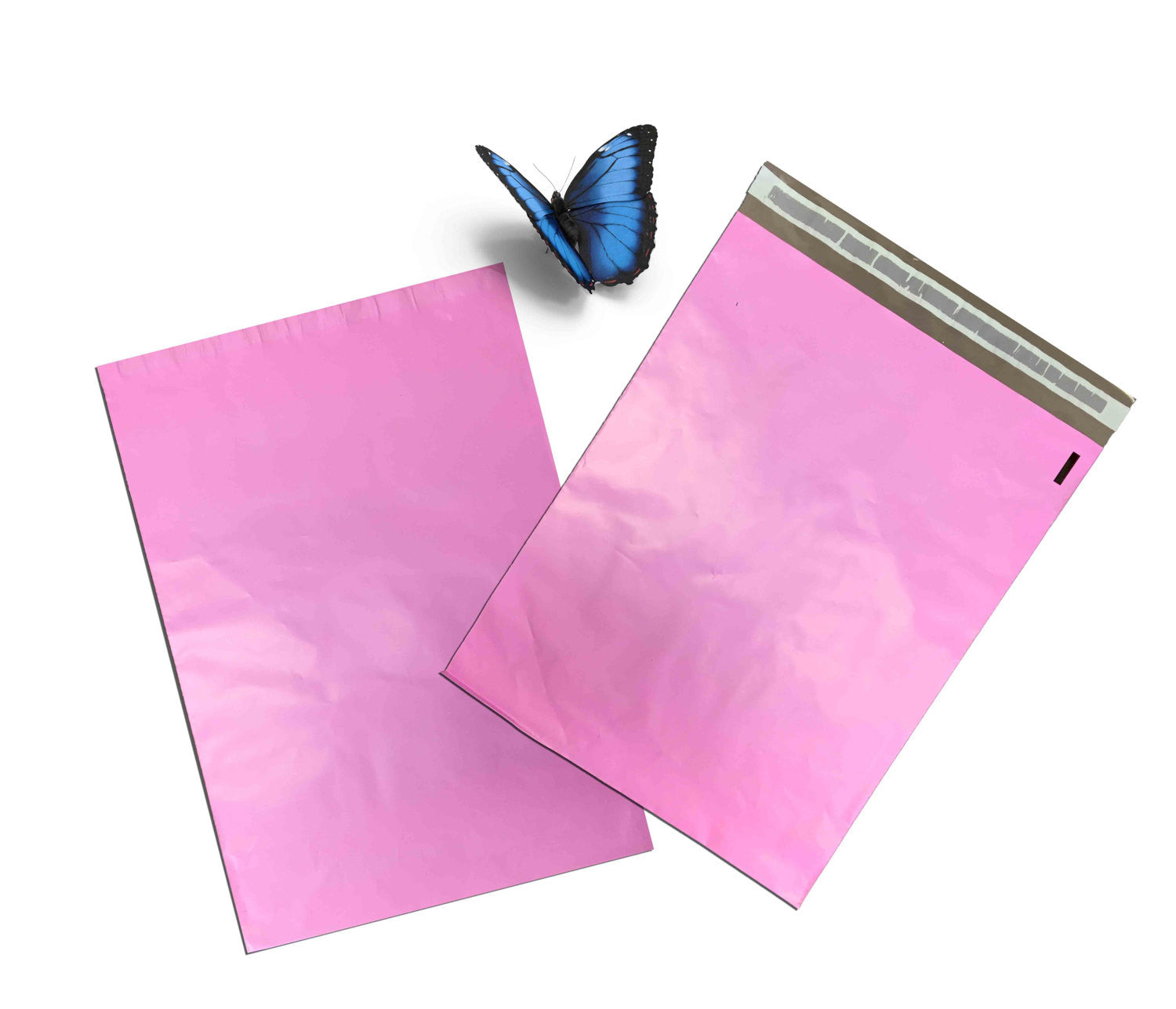 "12""x15"" Multi Color Self Seal Poly Mailers bags Pink, Blue, Purple, Yellow and Green"