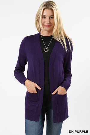 Soft as clouds open cardigan - Curvy