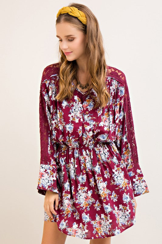 Bold for Floral Dress
