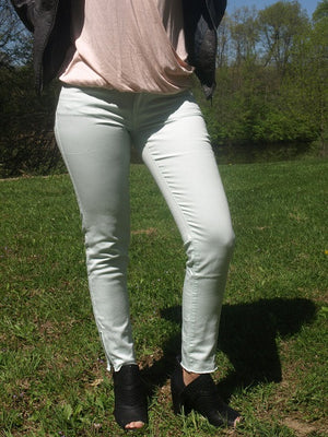 Zip Up Jeggings