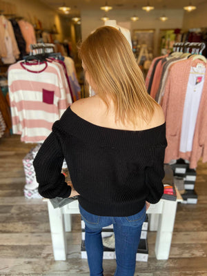 Ellie Off the Shoulder Sweater