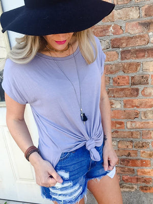 Brinley  Capped  Sleeve Tunic