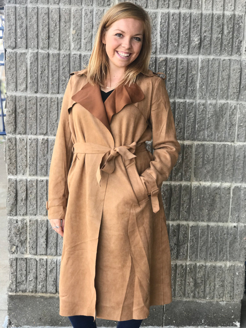Brynlee Trench Jacket