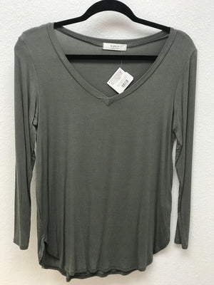 Comfy Long Sleeve V-Necks