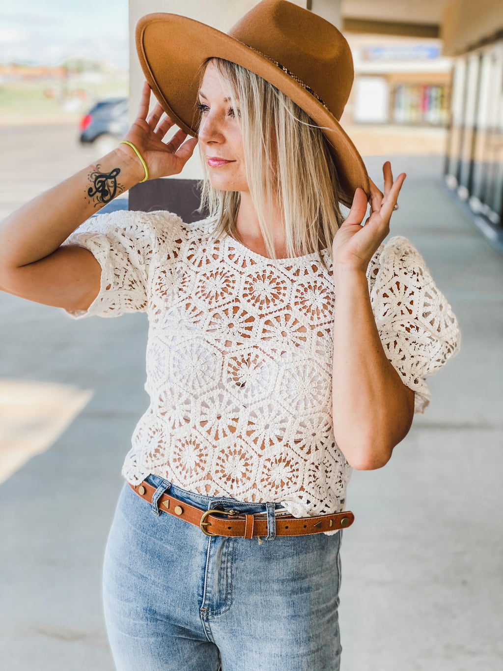 Crochet Boho Crop Top
