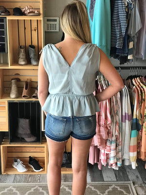 Sierra Cinched Waist Top
