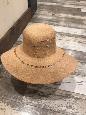 Marie Anne Floppy Beach Hat