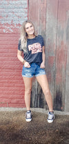 Linda Mid Rise Distressed Shorts