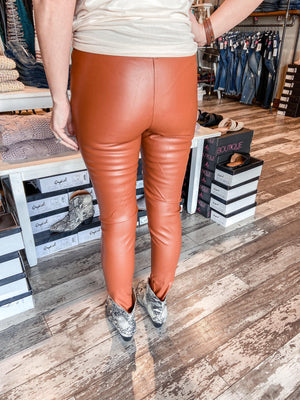 Antonella Skinny Faux Leather Pants