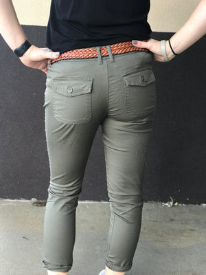 Belted Trouser Pants
