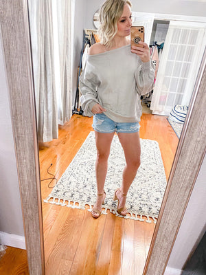 Beverly Slouchy Sweater - Trendsetters Fashion Boutique