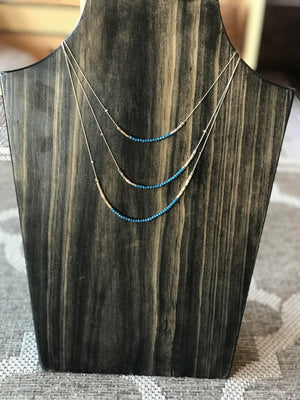 Aria Layered Bead Necklace