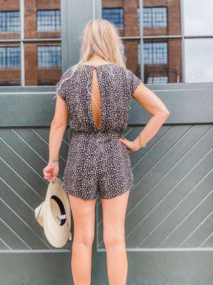 Sydney Woven Printed Romper