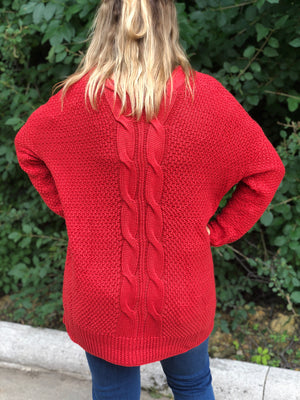 Piper Cable Knit Cardigan