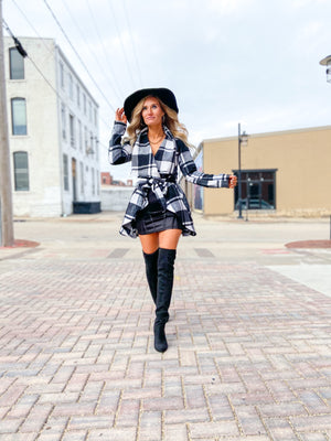 Tracy Plaid Cascade Jacket