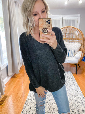 Extra Soft Pull Over Sweater