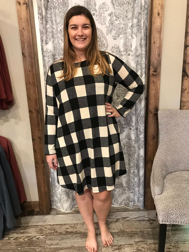 Buffalo Plaid Tunic/Dress