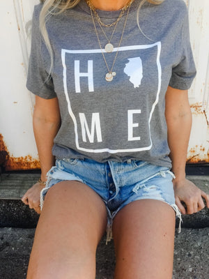 Home Illinois Graphic T-shirt