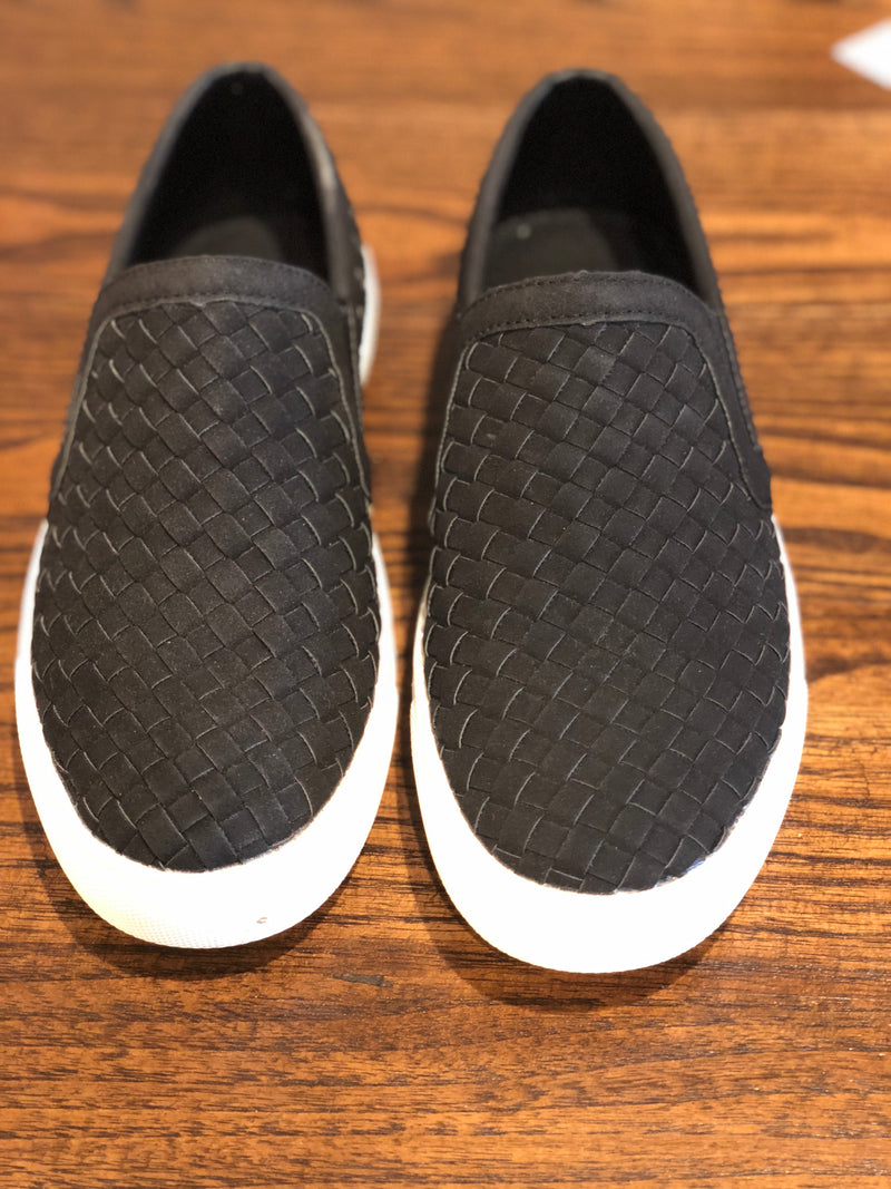 Powder Black Dock Shoes