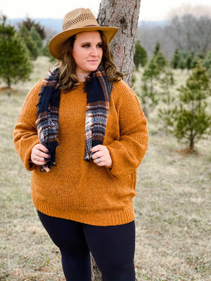 Madelynn Chunky Knit Sweater